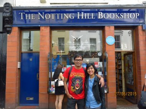 Toko buku dari film Notting Hill.