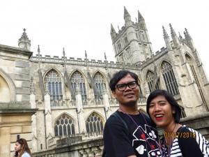 Salah satu gedung di Bath, kayaknya sih gereja.